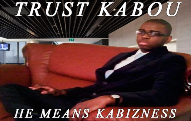 Kabou campaign poster