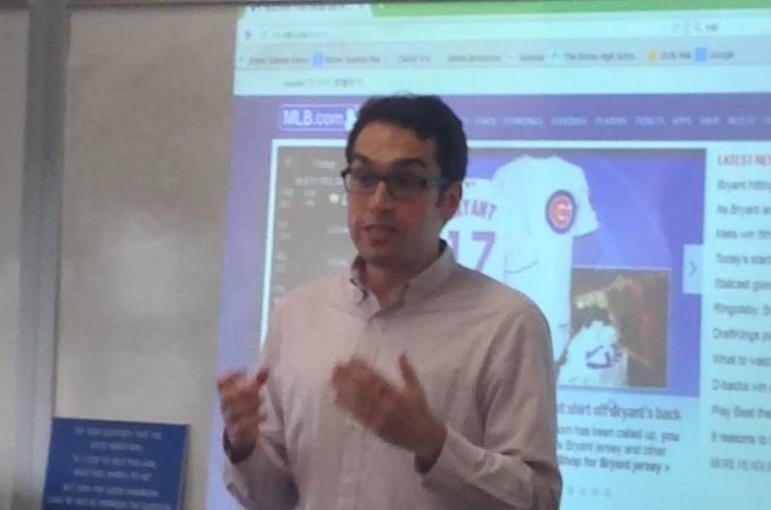 Matt Meyers explains the logistics of his job at MLB.com