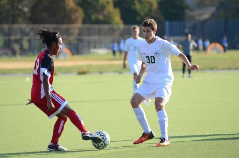 Zachary Sieglestein '18, pictured on the right, plays for MSC Villa and the Bronx Science Boys' Varsity Soccer Team.