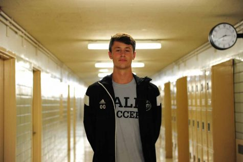 Theodore Lowen '18, goalie for MSC Villa and the Bronx Science Boys' Varsity Soccer Team.