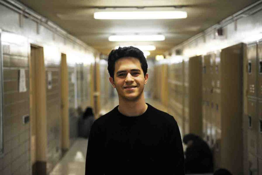 Hillel Rosenshine '17, first place winner of both the Princeton University Poetry Contest and the CUNY Poetry Contest.