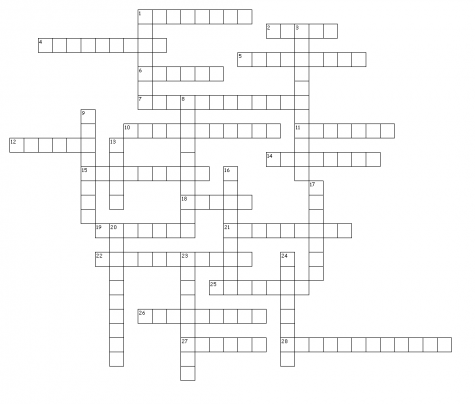 February 2017 Crossword Puzzle
