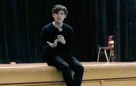 Holland during a Q & A session last year.