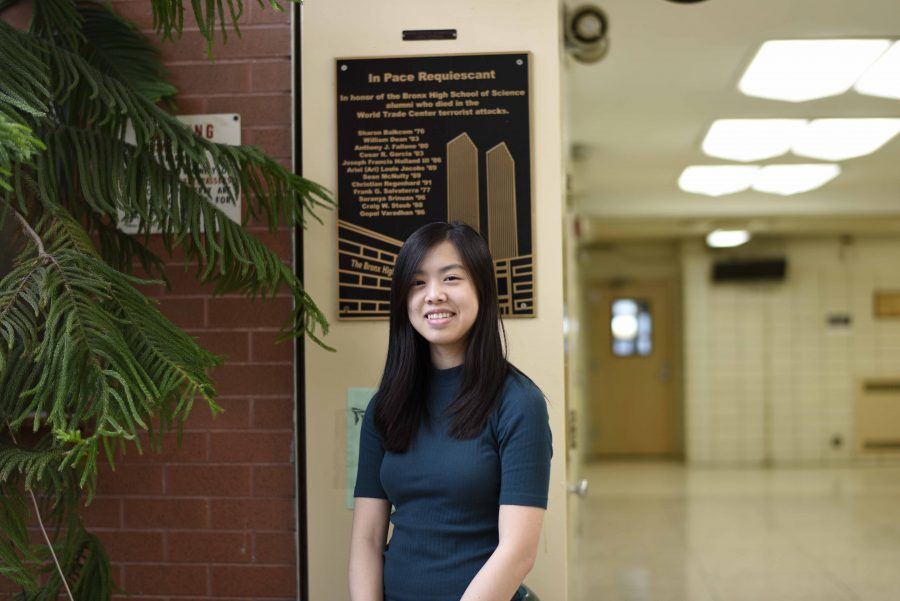 Alice Lei '18 believes that studying in her room optimizes her productivity and concentration level.