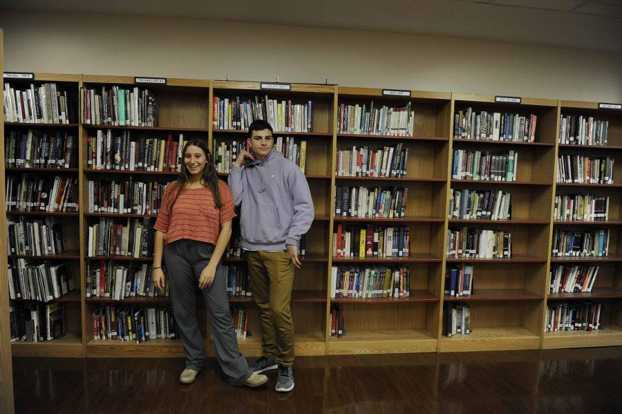 Alana Rosenthal '17 and Sam Grossman '17.