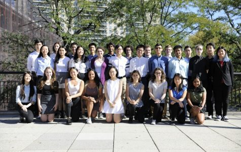 This year's 32 National Merit  Scholarship Semifinalists are some of Bronx Science's most well-rounded,  diverse, and scholarly students.