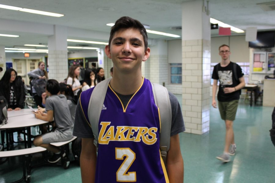 """Either the Lakers will surprise everyone and do really well, or they will do poorly again,"" said Lonzo Ball enthusiast Alex Halpern '21. ""Even so, I still believe that the top teams will remain the Thunder, Warriors, Rockets, Spurs, Celtics, and Cavaliers."""