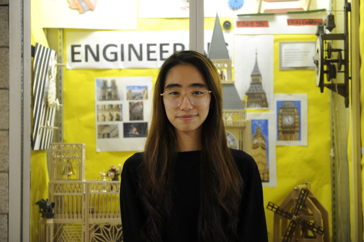 Like many Bronx Science students, Alia Yeancades '18, has strong opinions as to why many low-income students do not go to college.