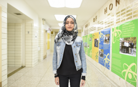 """""""Sometimes I have to mix foundations of different colors to get the tone that best suits me. After using Fenty Beauty, I no longer have to mix and match,""""  said Emma Mohammad '18."""