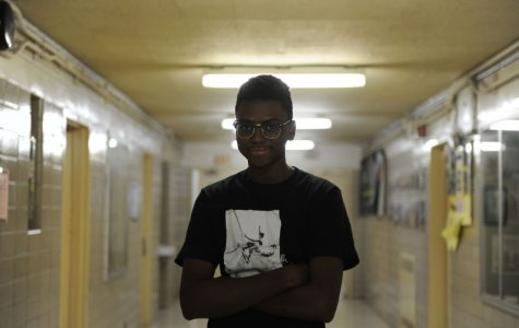 """Kiminu Yengo-Passy '18 promises to follow up on plans made and hang out with his friends more in the new year. """"I need to work on not flaking on people, and this year I'll be a second term senior, so hopefully I'll have more time to hang out,"""" Yengo-Passy said."""