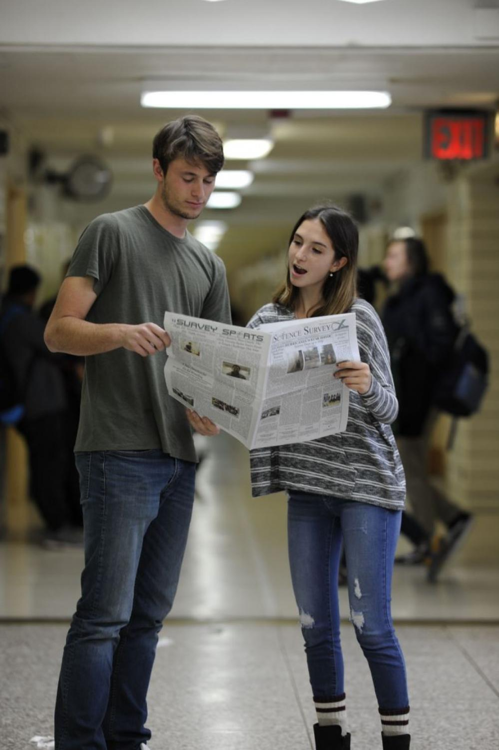 Melina Asteriadis '18 and Teddy Lowen '18 have a cumulative seven years' worth of advice on studying for exams.