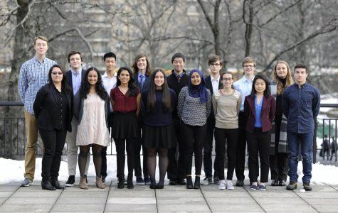 The 2018 Regeneron Science Talent Search Scholars.