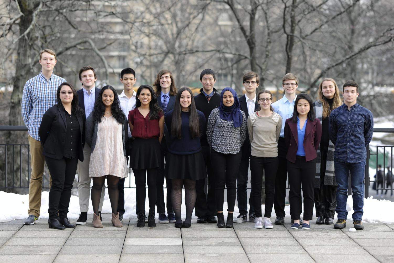 The 2018 Regeneron Science Talent Search Scholars.