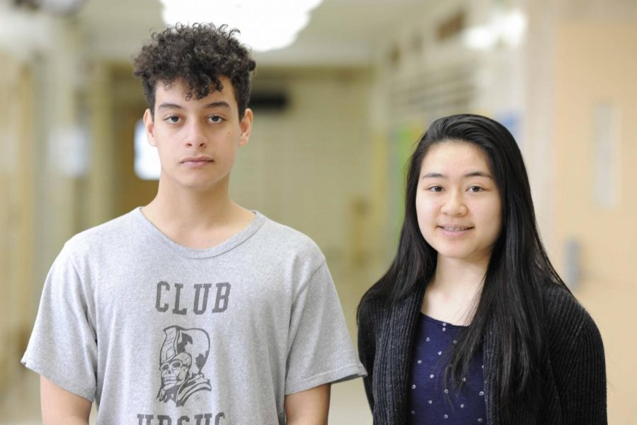 Jonathan Rodriguez '18 and Alysa Chen '19, Editorial Columnists.