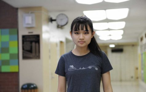 Elena Li '18, one of Bronx Science's Genes in Space Finalists.