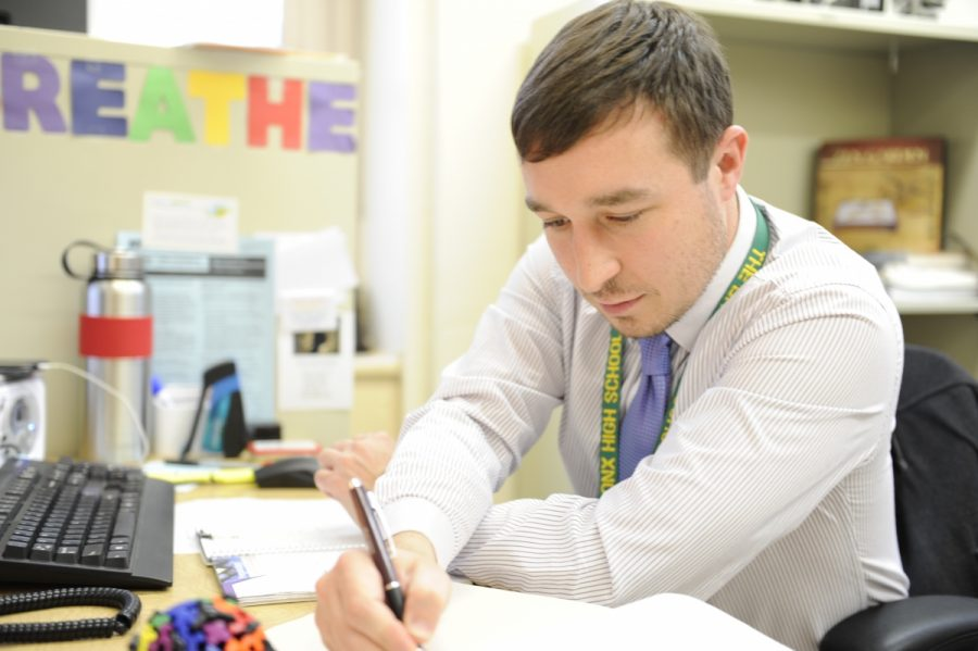 Though Mr. Cogliano has only been at Bronx Science for a few months, he is quickly trying to improve student life.