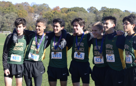 """""""Winning Third Place at the City Championships was absolutely amazing because it was the first time in six years that the varsity team qualified to go the state meet together,"""" said Ben Wade '19."""