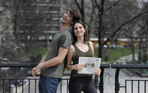 Melina Asteriadis '18 and Teddy Lowen '18, Advice Columnists.