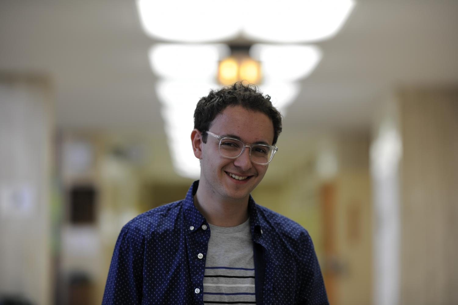 Ronin Rodkey '18, Editorial Columnist