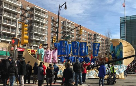 The Lunar New Year parade in Flushing, Queens on February 17, 2018.