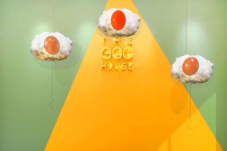 The Egg House is a pop-up interactive exhibition in lower Manhattan, filled with fun and aesthetically pleasing rooms.