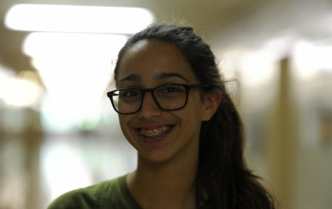 """Amelia Volpe '21 thinks that President Trump should recognize Pride Month and """"the millions of people who deserve to be happy."""