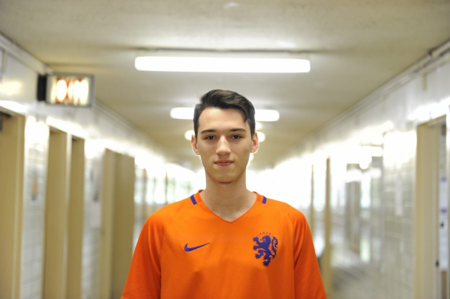 "Despite the fact that the Netherlands will not be competing at this year's World Cup, Andrew Benner '18 is still optimistic about the team. ""It's disappointing that the Netherlands didn't qualify, but I'll remain a loyal supporter as I await their next shot at the World Cup,"" Benner said."
