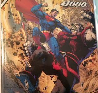 The Jim Lee Variant for Action Comics #1000.