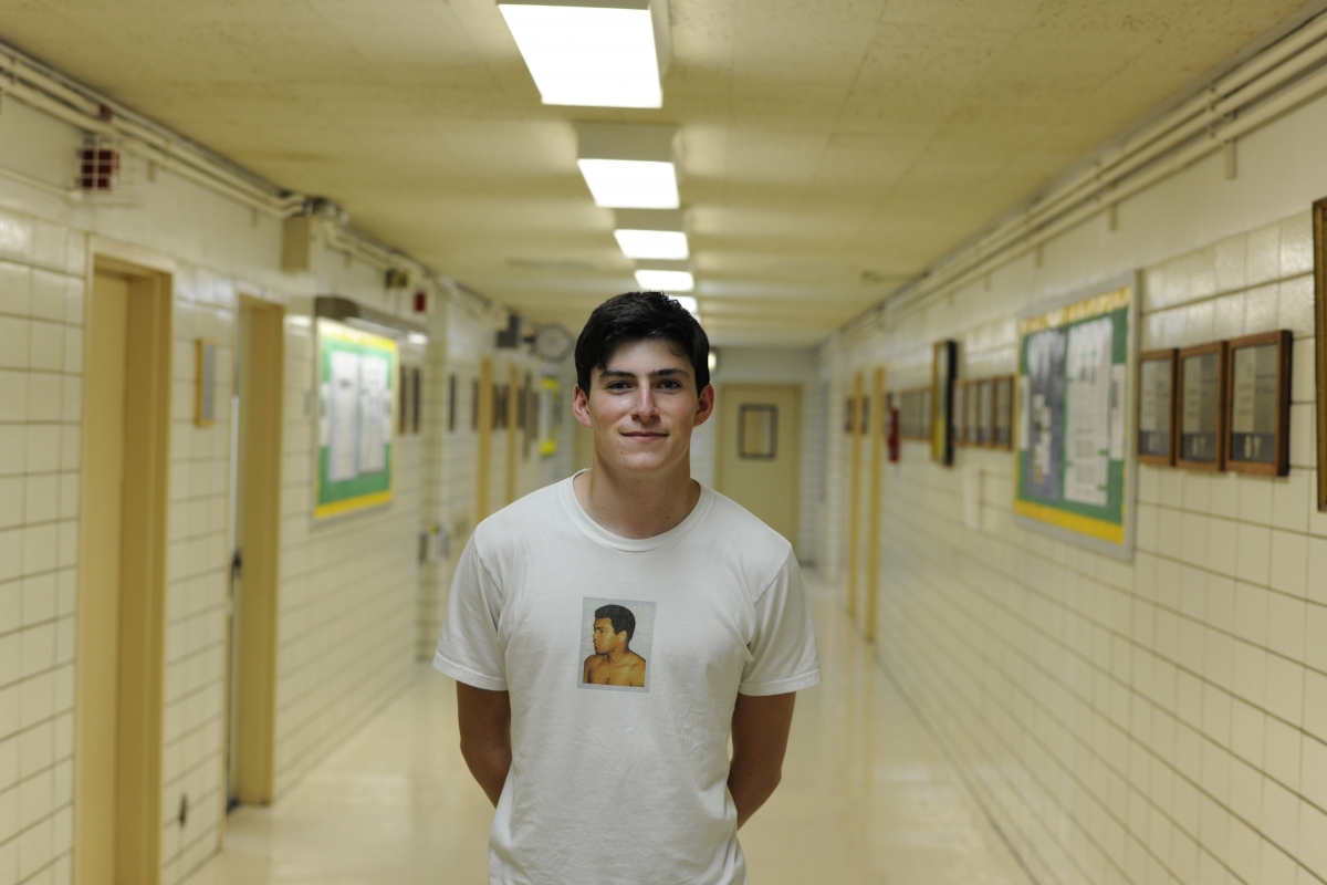 """""""During the movie, I was literally afraid to say a word,"""" said James Dale '18."""