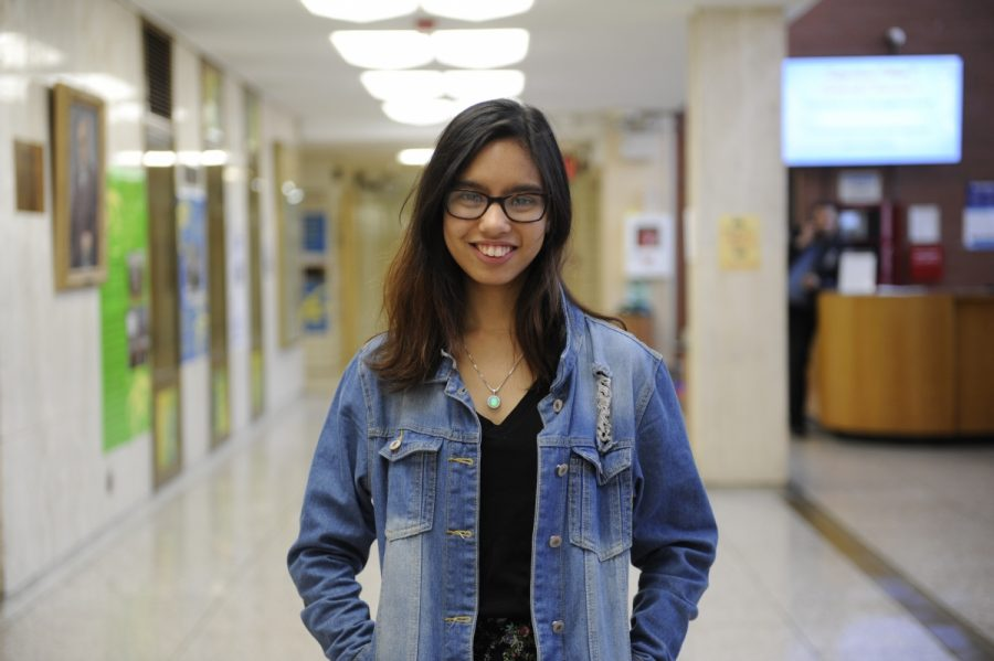 Lakhsmi Chatterjee '18, Editorial Columnist.