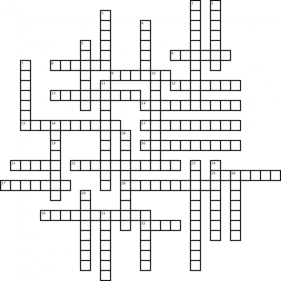 June 2018 Crossword
