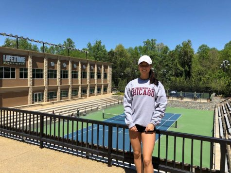 Perene Wang '19, Tennis Player, Commits to UChicago for the Class of '23