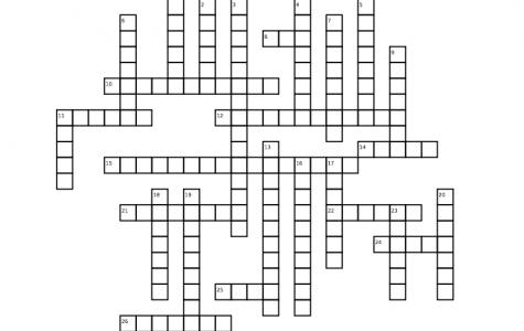Winter Crossword: Music