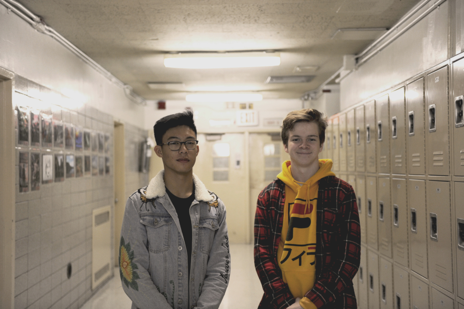 Ethan Sison '20 and Harry Hinzman '20   believe that there may be life on other planets.