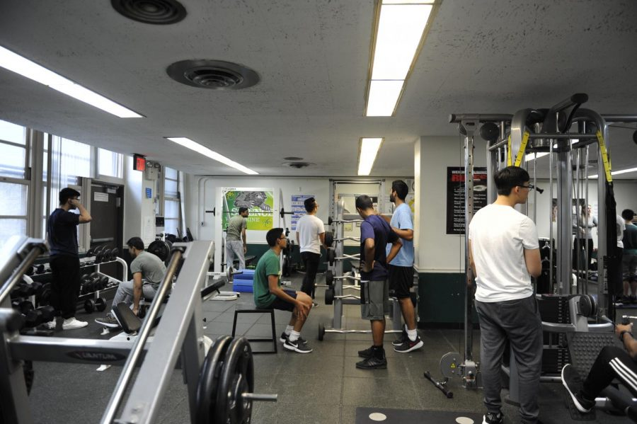 Bronx Science students work out in the wellness center. Many Bronx Science students are passionate about sports, and many feel strongly about the Colin Kaepernick controversy.