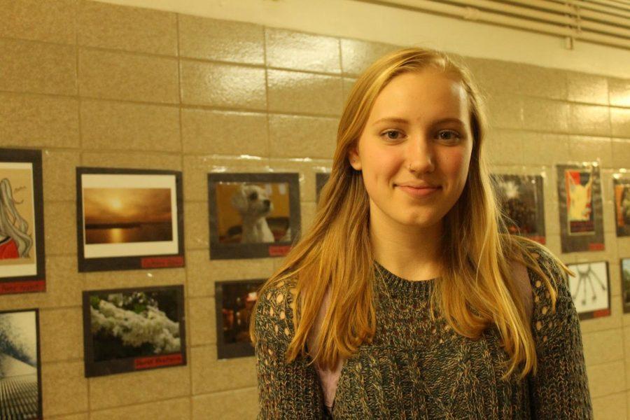 Aliana Sheers '18 has strong opinions regarding school start times.