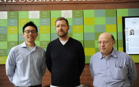 Mr. Liang, Mr. Grossman, and Mr. Schorr (left to right) recount their high school lives, offering sage advice for Bronx Science students today.
