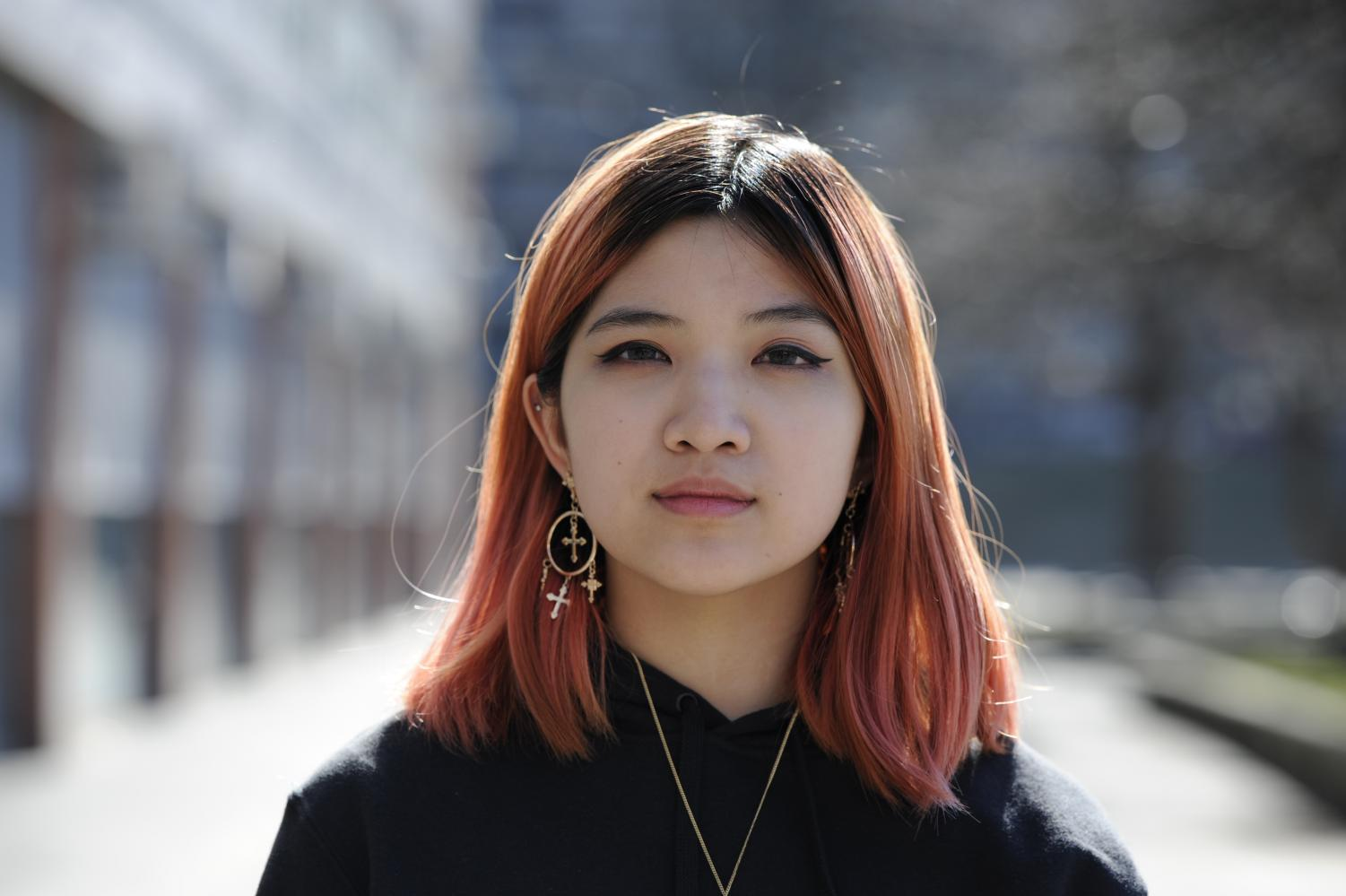 """School can be really stressful at times, and knowing that I will always have someone to support me is helpful. Whether we are staying up late together doing assignments or helping each other study, being in a relationship allows me to have someone who will be there for me unconditionally, "" Toni Ouyang '19 said."