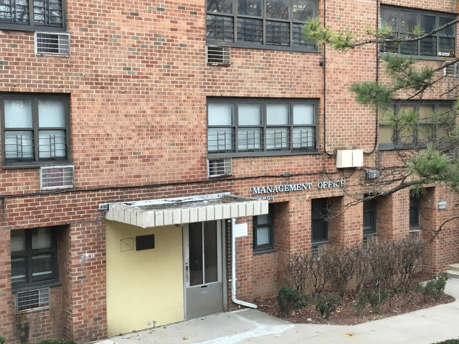The NYCHA Queens management office handles the complaints from residents regarding apartment conditions.