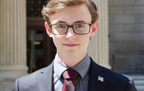 John Feighery '19 worked as an intern in Beto O'Rourke's congressional office during the summer of 2018.
