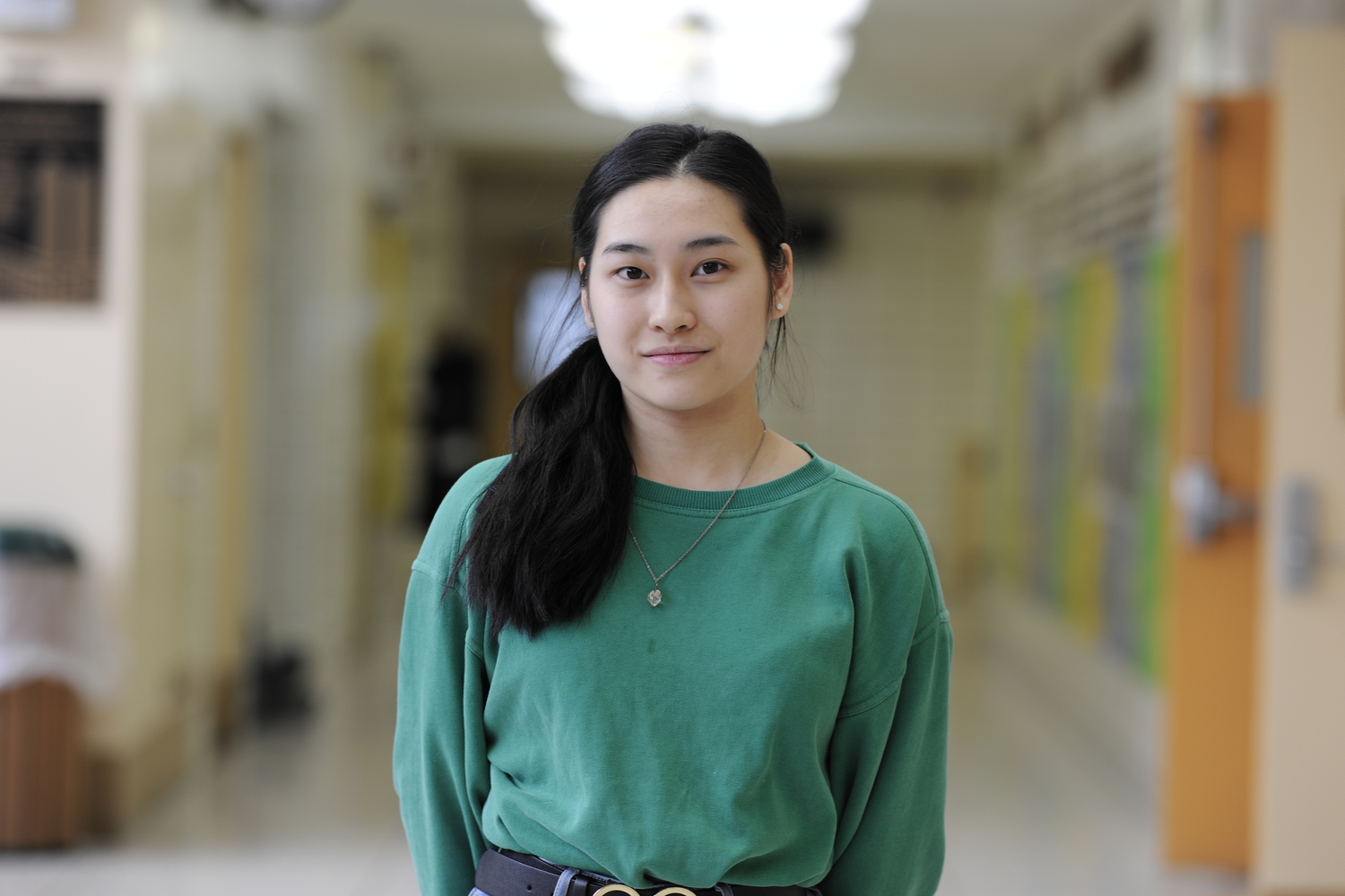 "Olivia Chen '20 is one of many Americans asked, 'Where are you from?"" by those who wish to learn about her ethnicity."