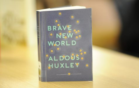 'Brave New World' is available in the Bronx Science Library. Our librarians have just bought stunning new copies!