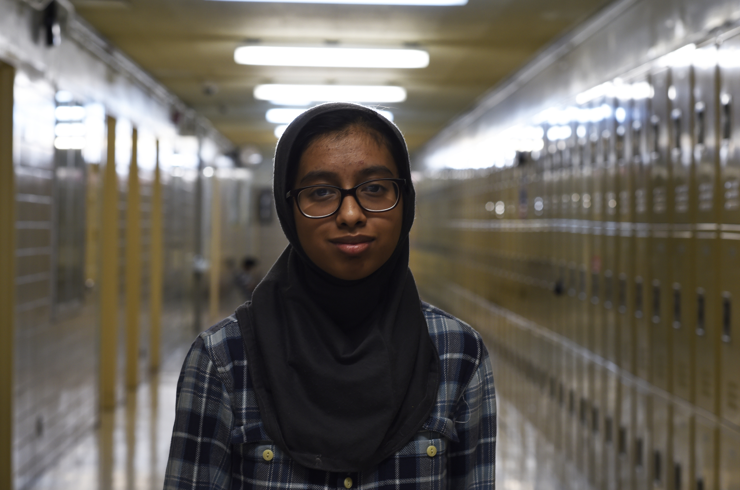 Tasnia Hakim '22 had never taken a midyear exam prior to coming to Bronx Science.