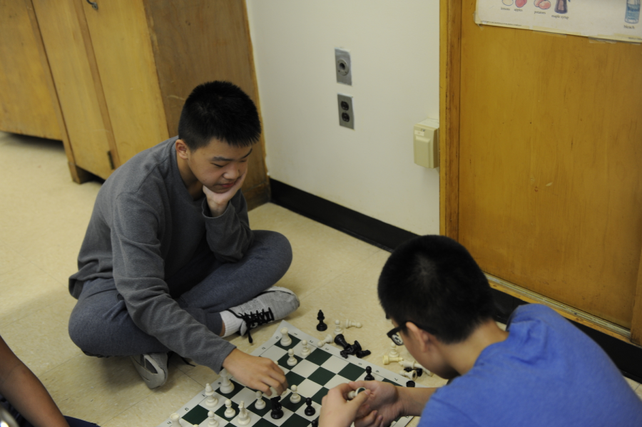 """Down to the Wire: An intense chess match takes place in room 228"""