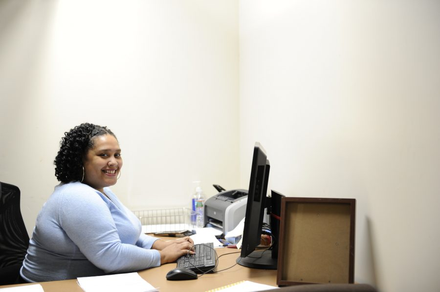 Students are always greeted to the Guidance Department with a bright smile.
