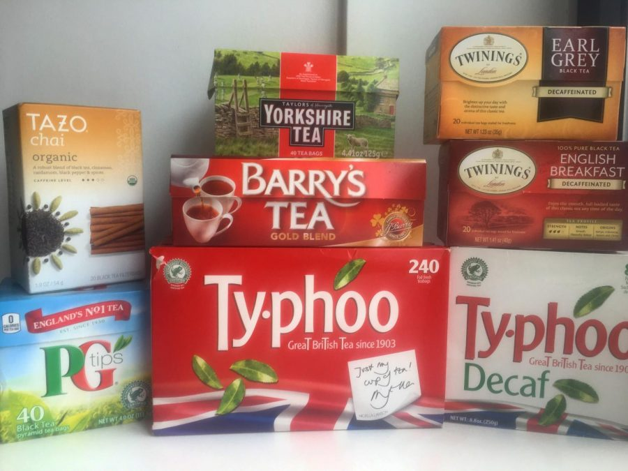 The+tea+collection+of+a+student.