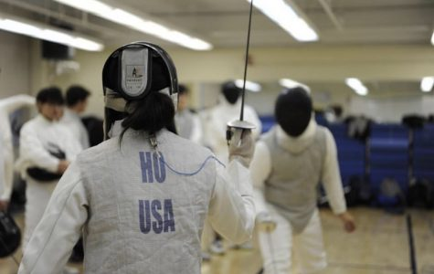 Joyce Ho '20, who hopes to continue fencing in college, believes the athletic recruitment scandal's repercussions will be more drastic than once thought.