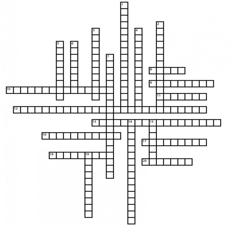 T.V. Shows Crossword