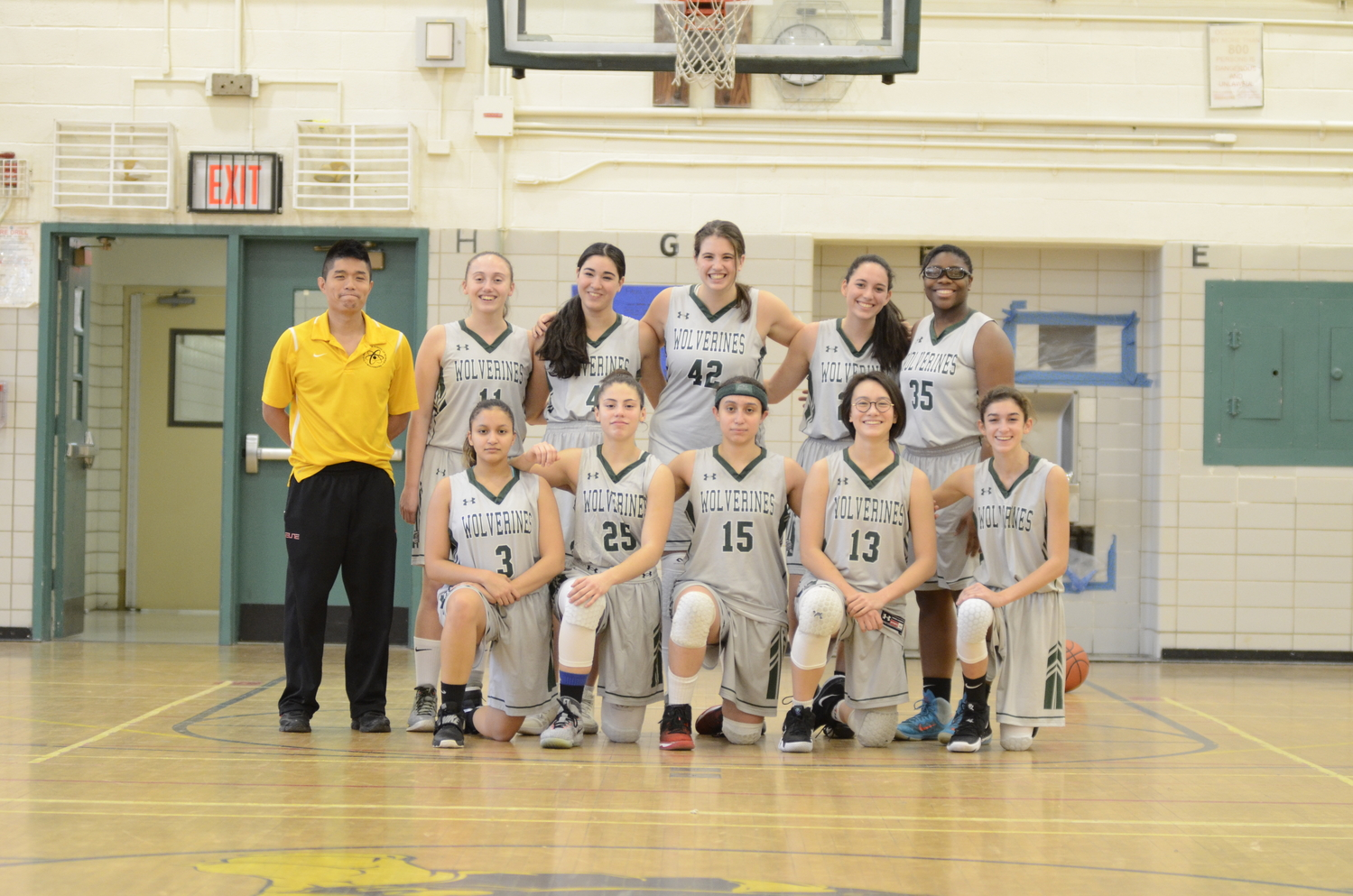 Members of the Girls' Varsity Basketball team are well aware of the impact that sports can have upon how athletes view themselves.