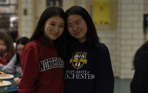 This fall, Amy Liu '19 will attend Northeastern University and Ivy Tong '19 will attend the University of Rochester.